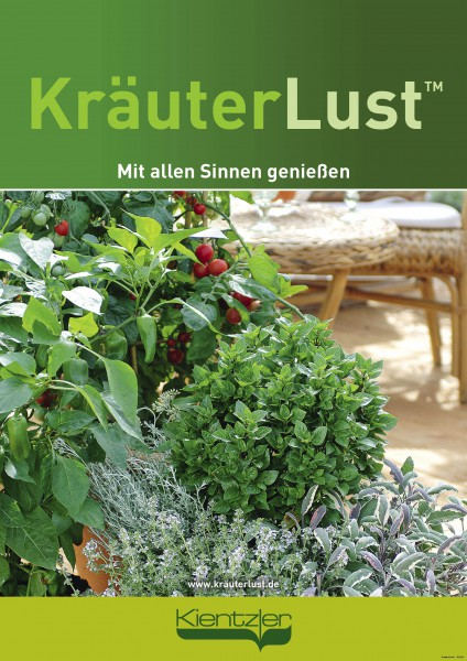 Poster Kräuterlust